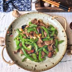 经典青椒炒牛肉