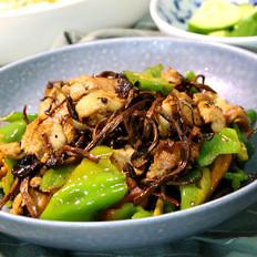 干锅茶树菇,饭店必点的干锅菜