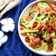 好吃的干锅花菜