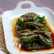 吃辣椒的虎皮青椒