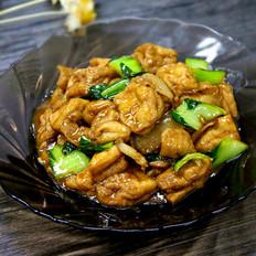 家常菜炒油豆腐