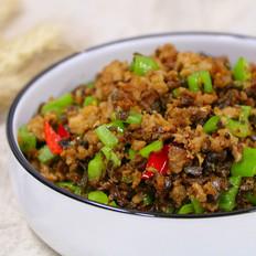 云南传统菜黑三剁