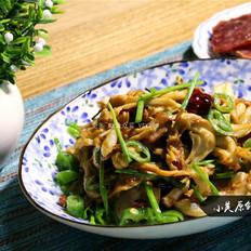 下饭菜爆炒干锅平菇
