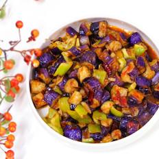 鱼香茄子糖醋茄子,小美的美食