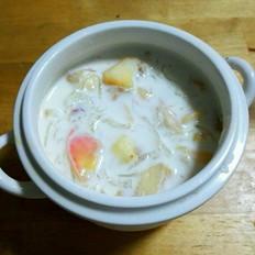 水果牛奶燕窝羹