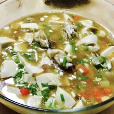 牡蛎烧豆腐