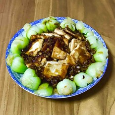 虎皮豆腐炒油菜