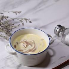 菌菇奶油汤的做法