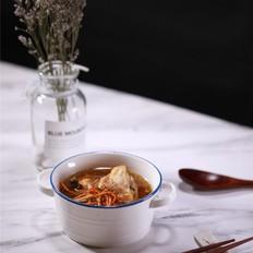 黄花菜虫草花炖鸡汤的做法