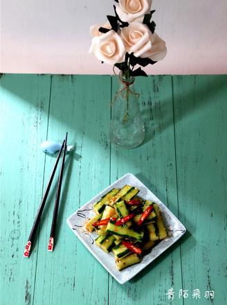 酸辣凉拌黄瓜的做法