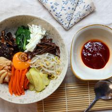 韩式全州拌饭