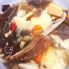 玉米海带羊排汤