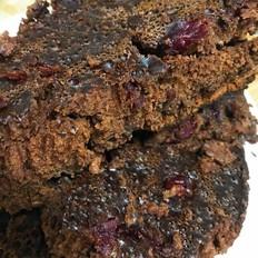 暗黑系列-巧克力蔓越莓蛋糕