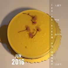 免烤箱--芒果樱花慕斯