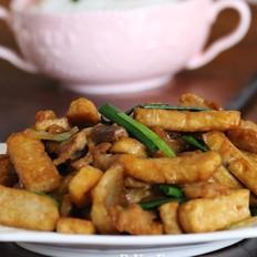 豆腐饼炒肉