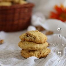 燕麦核桃杏仁饼