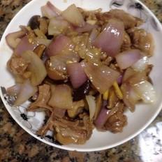 香菇洋葱焖鸭