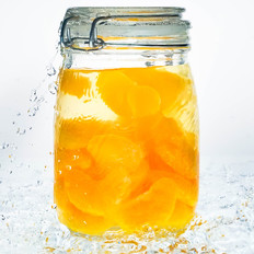 自制无添加安心橘子罐头