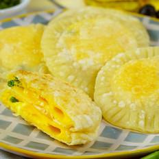 自制饺子皮版鸡蛋灌饼