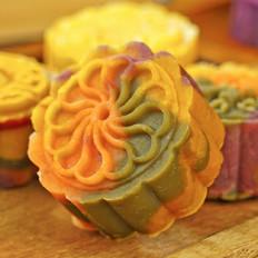 免烤彩色绿豆月饼