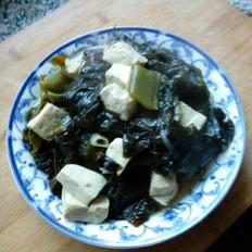 海芥菜炖豆腐
