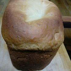 蜂蜜牛奶葡萄干面包