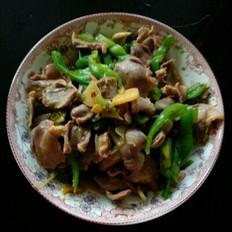 鸡胗炒青椒