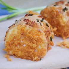 面包店必选——肉松沙拉卷