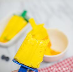 超简单又美味的芒果雪糕