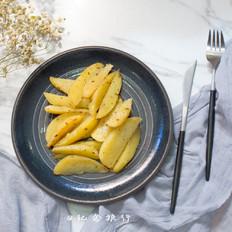 超级简单的孜然烤土豆