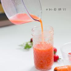 原汁机食谱番茄胡萝卜橘子汁