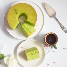 超详细低糖少油菠菜戚风蛋糕 后蛋法