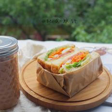 洋气的早餐 网红沼三明治