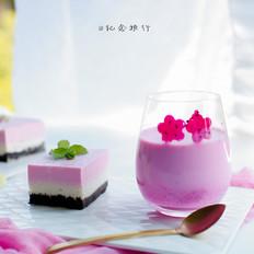 火龙果酸奶奶昔