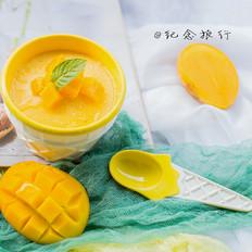 芒果冰淇淋 免搅打懒人配方