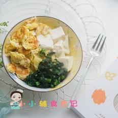 青菜豆腐鸡蛋面