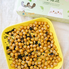 9个月以上辅食紫菜芝麻烤鹰嘴豆