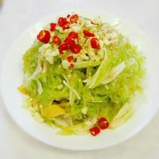 蟹柳拌莴笋丝