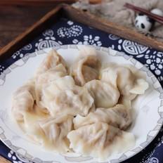 酸菜油渣水饺