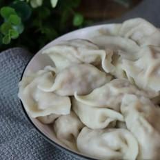 香菇白菜水饺