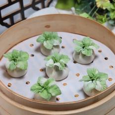 翡翠白菜蒸饺~冬至以食取暖,吃饺子捏冻耳朵