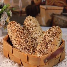 多谷黑麦面包的做法