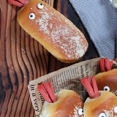 章鱼小面包