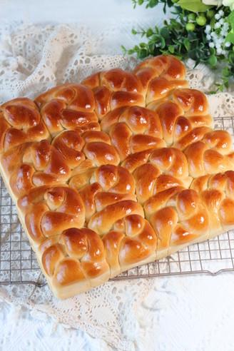 椰子油老面包的做法