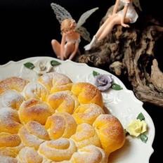 菊花椰蓉面包