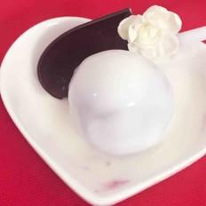 酸奶紫薯球