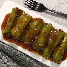 尖椒酿肉年夜饭怎么能少的了的做法