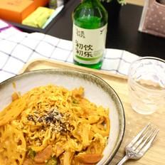 韩国辣火鸡方便面