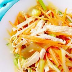减脂凉拌什锦菜