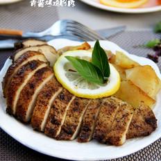 青酱烤鸡胸肉